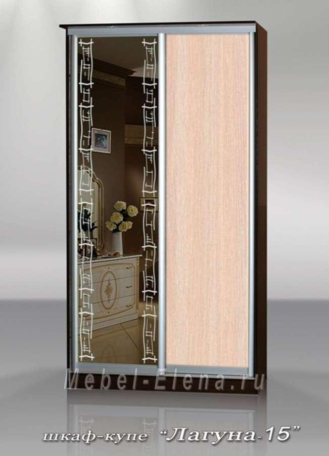 Шкаф-купе лагуна-15 / корпусная мебель / шкафы купе / катало.