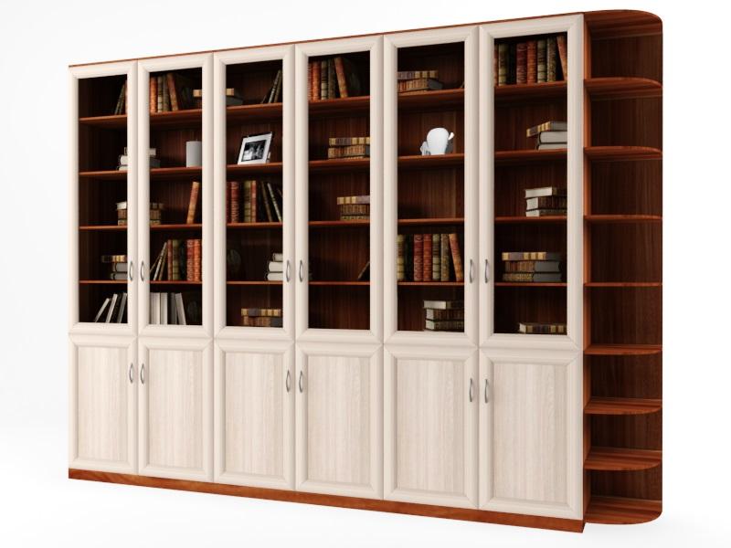 Стеллаж гала 6.6у / корпусная мебель / стеллажи / каталог.